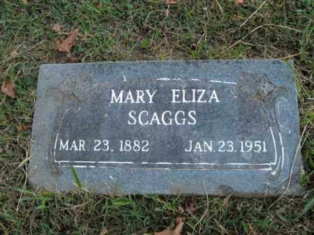 SKAGGS, MARY ELIZA - Boone County, Arkansas   MARY ELIZA SKAGGS - Arkansas Gravestone Photos