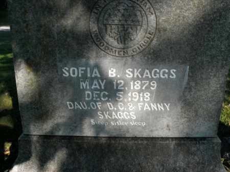 SKAGGS, SOFIA B. - Boone County, Arkansas | SOFIA B. SKAGGS - Arkansas Gravestone Photos
