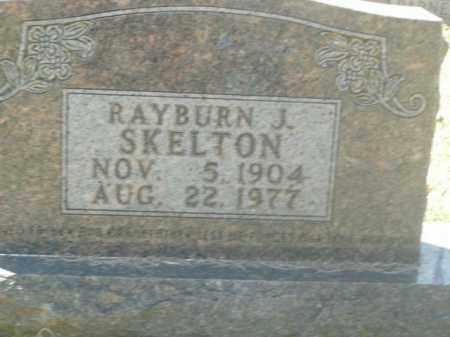 SKELTON, RAYBURN J. - Boone County, Arkansas | RAYBURN J. SKELTON - Arkansas Gravestone Photos