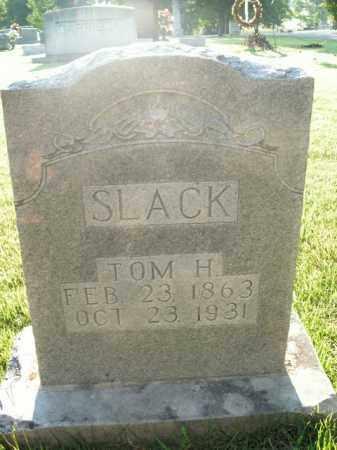 SLACK, TOM H. - Boone County, Arkansas | TOM H. SLACK - Arkansas Gravestone Photos