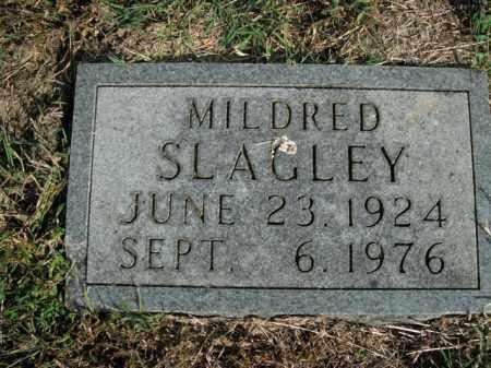 SLAGLEY, MILDRED - Boone County, Arkansas | MILDRED SLAGLEY - Arkansas Gravestone Photos
