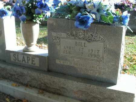 SLAPE, BILL - Boone County, Arkansas | BILL SLAPE - Arkansas Gravestone Photos