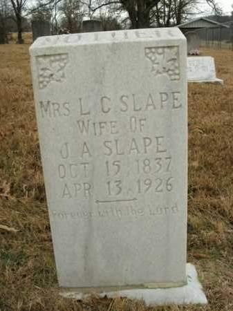 ROBERTS SLAPE, LOUIZA CATHERINE - Boone County, Arkansas | LOUIZA CATHERINE ROBERTS SLAPE - Arkansas Gravestone Photos