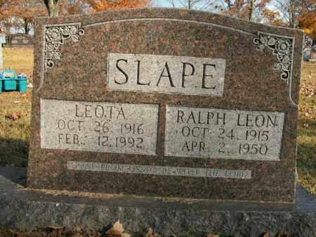 SLAPE, LEOTA - Boone County, Arkansas | LEOTA SLAPE - Arkansas Gravestone Photos