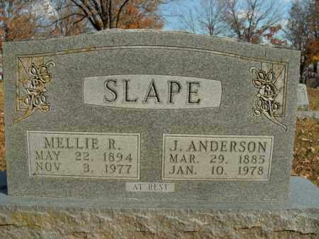 SLAPE, MELLIE R. - Boone County, Arkansas | MELLIE R. SLAPE - Arkansas Gravestone Photos