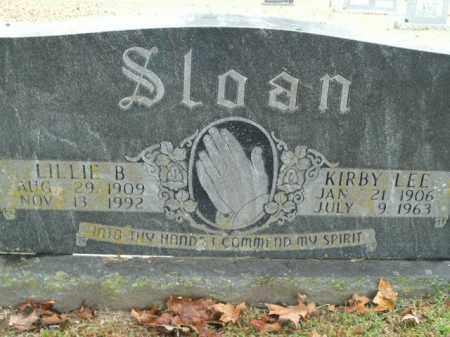 SLOAN, LILLIE B. - Boone County, Arkansas | LILLIE B. SLOAN - Arkansas Gravestone Photos