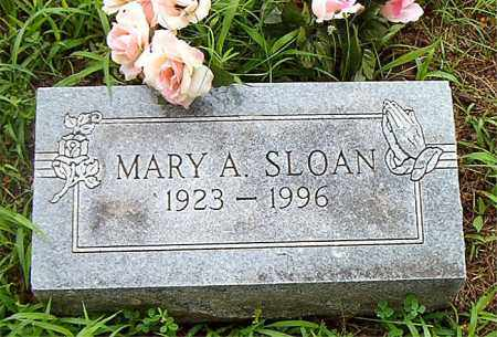 SLOAN, MARY  A. - Boone County, Arkansas | MARY  A. SLOAN - Arkansas Gravestone Photos