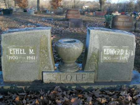 SLOTE, EDWARD L. - Boone County, Arkansas | EDWARD L. SLOTE - Arkansas Gravestone Photos
