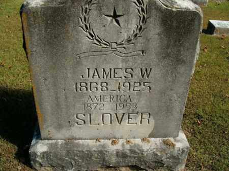 SLOVER, AMERICA J. - Boone County, Arkansas | AMERICA J. SLOVER - Arkansas Gravestone Photos