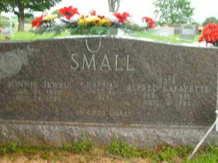 SMALL, MINNIE JEWEL - Boone County, Arkansas | MINNIE JEWEL SMALL - Arkansas Gravestone Photos