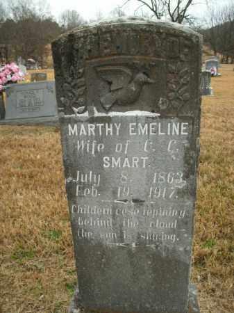 SMART, MARTHY EMELINE - Boone County, Arkansas | MARTHY EMELINE SMART - Arkansas Gravestone Photos