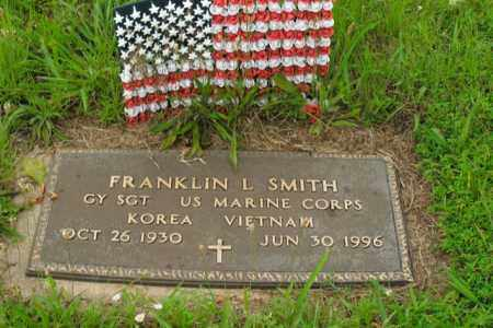 SMITH  (VETERAN 2 WARS), FRANKLIN L. - Boone County, Arkansas | FRANKLIN L. SMITH  (VETERAN 2 WARS) - Arkansas Gravestone Photos