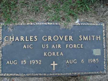 SMITH  (VETERAN KOR), CHARLES GROVER - Boone County, Arkansas | CHARLES GROVER SMITH  (VETERAN KOR) - Arkansas Gravestone Photos