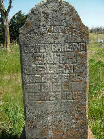 SMITH, DEWEY GARLAND - Boone County, Arkansas | DEWEY GARLAND SMITH - Arkansas Gravestone Photos