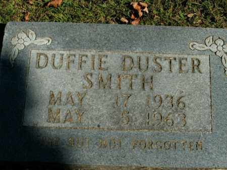 SMITH, DUFFIE DUSTER - Boone County, Arkansas | DUFFIE DUSTER SMITH - Arkansas Gravestone Photos