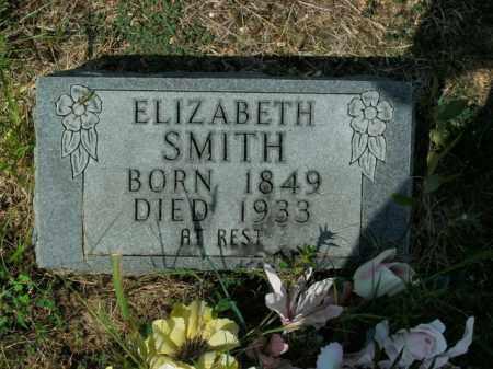 SMITH, ELIZABETH - Boone County, Arkansas   ELIZABETH SMITH - Arkansas Gravestone Photos