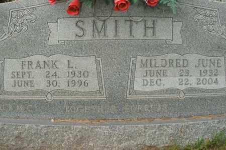 SMITH, FRANK L. - Boone County, Arkansas | FRANK L. SMITH - Arkansas Gravestone Photos