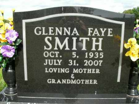 SMITH, GLENNA FAYE - Boone County, Arkansas | GLENNA FAYE SMITH - Arkansas Gravestone Photos
