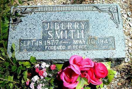 SMITH, J.  BERRY - Boone County, Arkansas | J.  BERRY SMITH - Arkansas Gravestone Photos