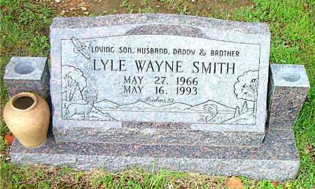 SMITH, LYLE WAYNE - Boone County, Arkansas | LYLE WAYNE SMITH - Arkansas Gravestone Photos
