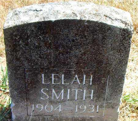 SMITH, LELAH - Boone County, Arkansas   LELAH SMITH - Arkansas Gravestone Photos