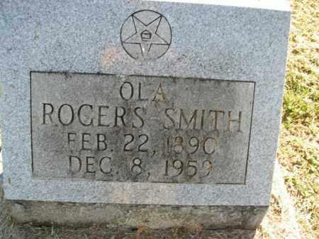 ROGERS SMITH, OLA M. - Boone County, Arkansas | OLA M. ROGERS SMITH - Arkansas Gravestone Photos