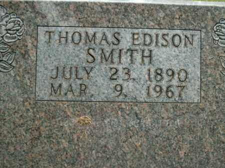 SMITH, THOMAS EDISON - Boone County, Arkansas | THOMAS EDISON SMITH - Arkansas Gravestone Photos