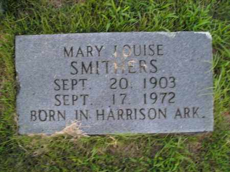 SMITHERS, MARY LOUISE - Boone County, Arkansas | MARY LOUISE SMITHERS - Arkansas Gravestone Photos