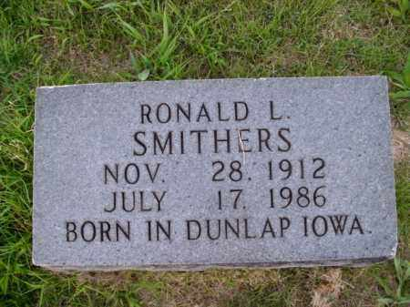 SMITHERS, RONALD L. - Boone County, Arkansas | RONALD L. SMITHERS - Arkansas Gravestone Photos