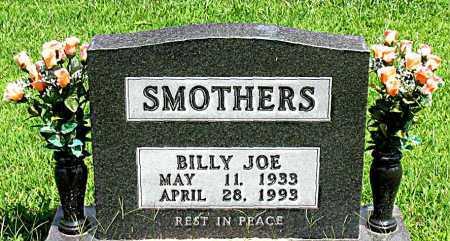 SMOTHERS, BILLY JOE - Boone County, Arkansas | BILLY JOE SMOTHERS - Arkansas Gravestone Photos
