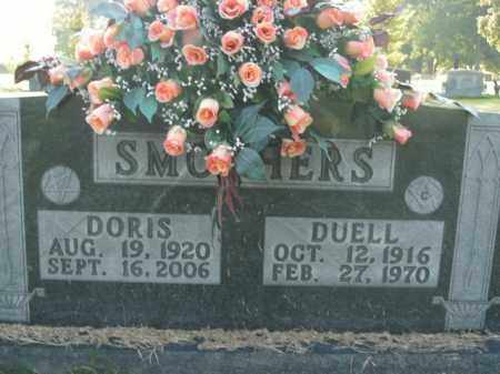 SMOTHERS, DUELL - Boone County, Arkansas   DUELL SMOTHERS - Arkansas Gravestone Photos