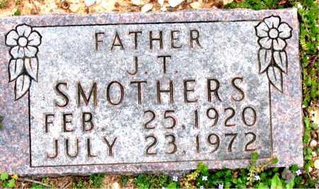 SMOTHERS, J.  T. - Boone County, Arkansas | J.  T. SMOTHERS - Arkansas Gravestone Photos