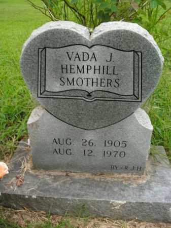 HEMPHILL SMOTHERS, VADA J. - Boone County, Arkansas   VADA J. HEMPHILL SMOTHERS - Arkansas Gravestone Photos