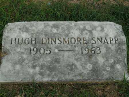 SNAPP, HUGH DINSMORE - Boone County, Arkansas | HUGH DINSMORE SNAPP - Arkansas Gravestone Photos
