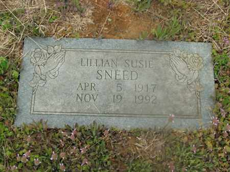SNEED, LILLIAN SUSIE - Boone County, Arkansas | LILLIAN SUSIE SNEED - Arkansas Gravestone Photos