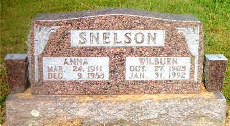 SNELSON, ANNA - Boone County, Arkansas | ANNA SNELSON - Arkansas Gravestone Photos