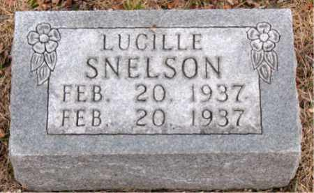 SNELSON, LUCILLE - Boone County, Arkansas | LUCILLE SNELSON - Arkansas Gravestone Photos