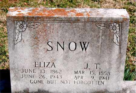 SNOW, ELIZA - Boone County, Arkansas | ELIZA SNOW - Arkansas Gravestone Photos