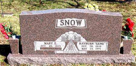 SNOW, RAYBURN (GENE) - Boone County, Arkansas | RAYBURN (GENE) SNOW - Arkansas Gravestone Photos