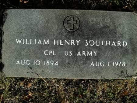 SOUTHARD  (VETERAN), WILLIAM HENRY - Boone County, Arkansas | WILLIAM HENRY SOUTHARD  (VETERAN) - Arkansas Gravestone Photos