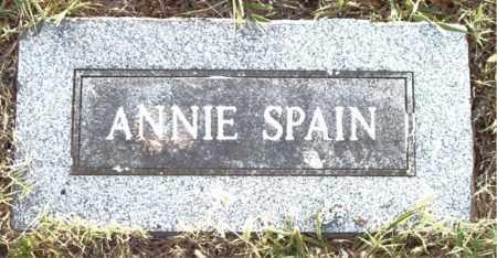 SPAIN, ANNIE - Boone County, Arkansas | ANNIE SPAIN - Arkansas Gravestone Photos