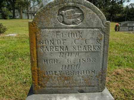 SPARKS, FRANK - Boone County, Arkansas | FRANK SPARKS - Arkansas Gravestone Photos