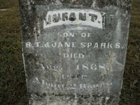 SPARKS, INFANT SON - Boone County, Arkansas | INFANT SON SPARKS - Arkansas Gravestone Photos