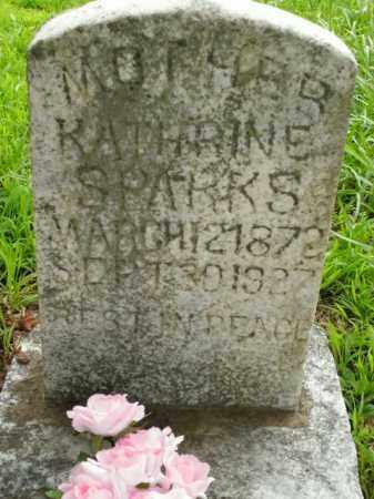 SPARKS, KATHRINE - Boone County, Arkansas   KATHRINE SPARKS - Arkansas Gravestone Photos