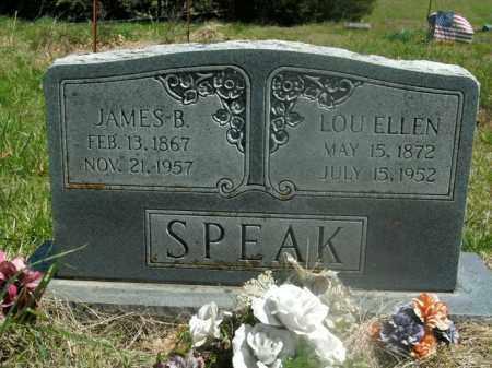 SPEAK, JAMES B. - Boone County, Arkansas   JAMES B. SPEAK - Arkansas Gravestone Photos