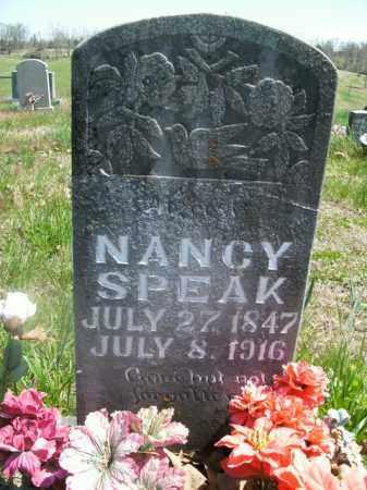 SPEAK, NANCY - Boone County, Arkansas | NANCY SPEAK - Arkansas Gravestone Photos