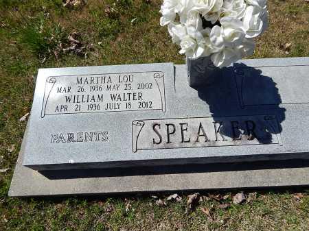 SPEAKER, MARTHA LOU - Boone County, Arkansas | MARTHA LOU SPEAKER - Arkansas Gravestone Photos