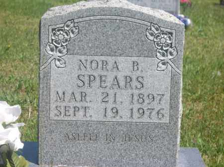 SPEARS, NORA B. - Boone County, Arkansas | NORA B. SPEARS - Arkansas Gravestone Photos