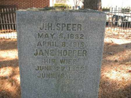 SPEER, JOSEPH H. - Boone County, Arkansas | JOSEPH H. SPEER - Arkansas Gravestone Photos