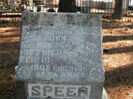 SPEER, MOSE LEE - Boone County, Arkansas | MOSE LEE SPEER - Arkansas Gravestone Photos